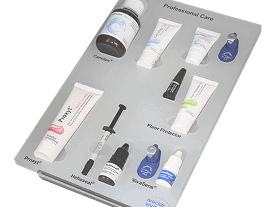 Ivoclar Vivadent – sample tray for dental products