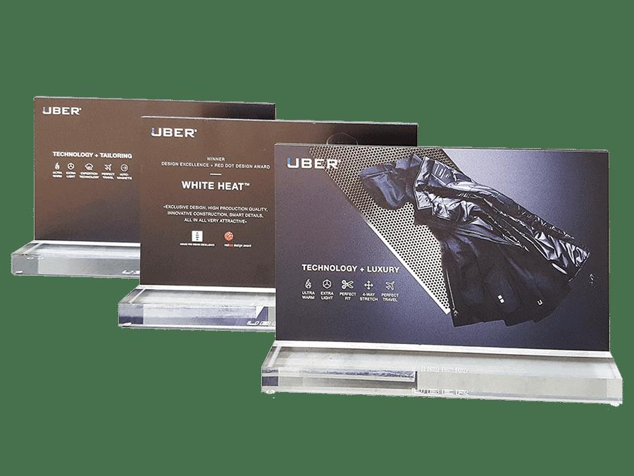 UBR® – Produktaufsteller