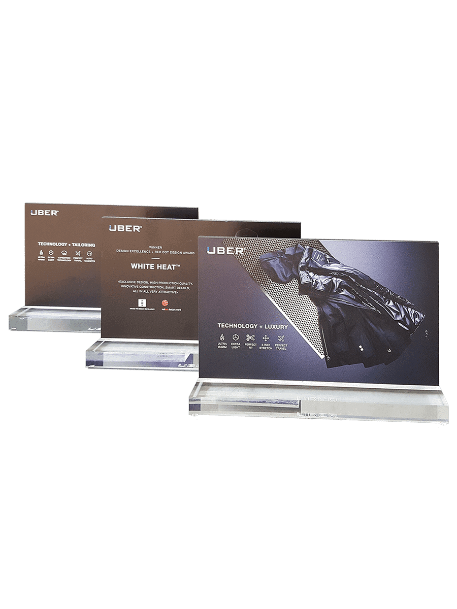 UBR® – product display