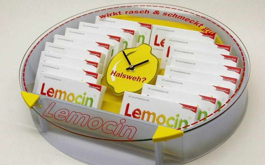 Lemocin Zahlteller für Apotheken