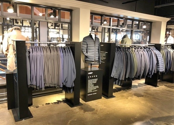 Shop-in-Shop System für UBR – Technology and Tailoring