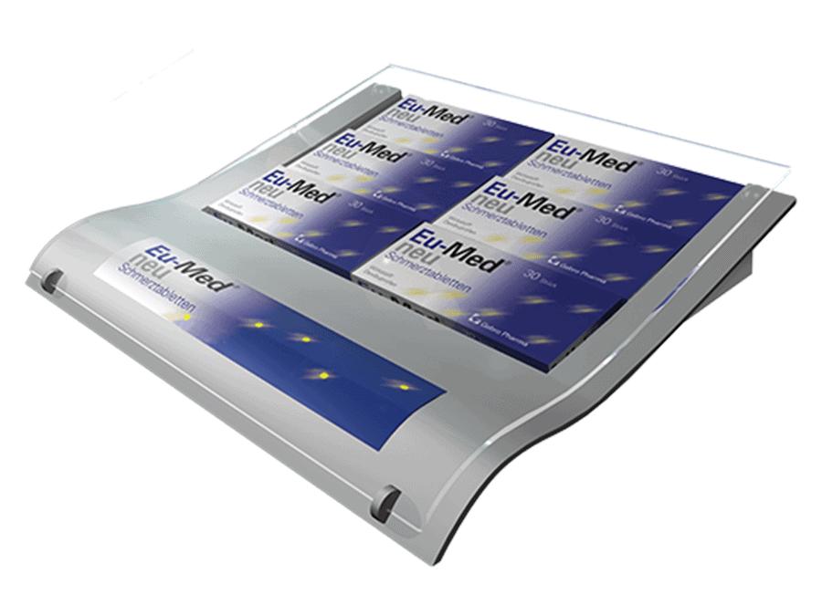 Eu-Med Zahlteller für Apotheken