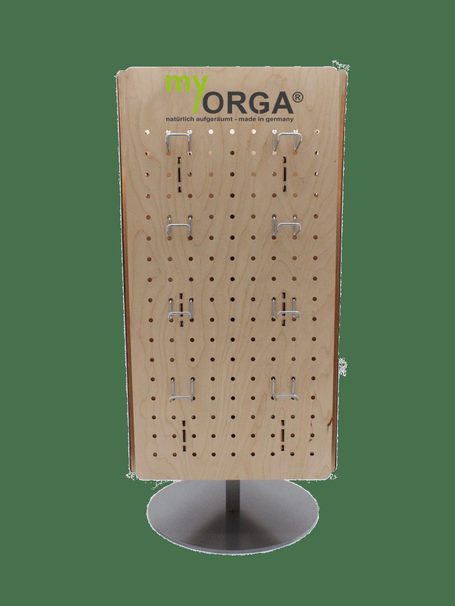 myORGA – counter display rotatable for blister packs