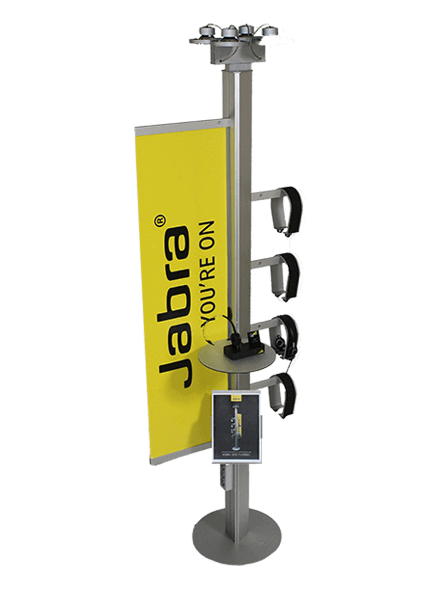 Jabra – floor stand for headsets