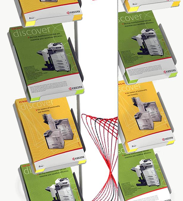 Kyocera – brochure rack