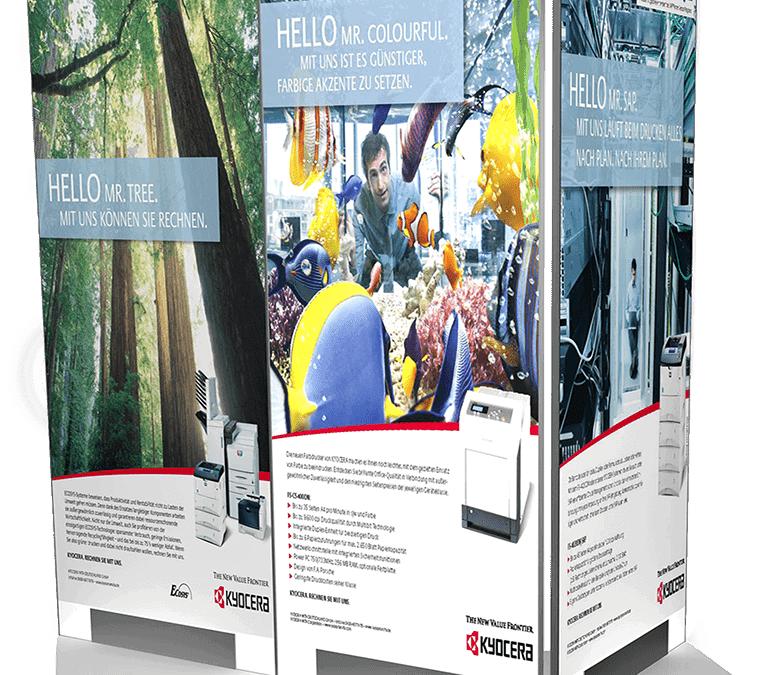 Kyocera – Modulares Shopsystem für Fachhandelspartner