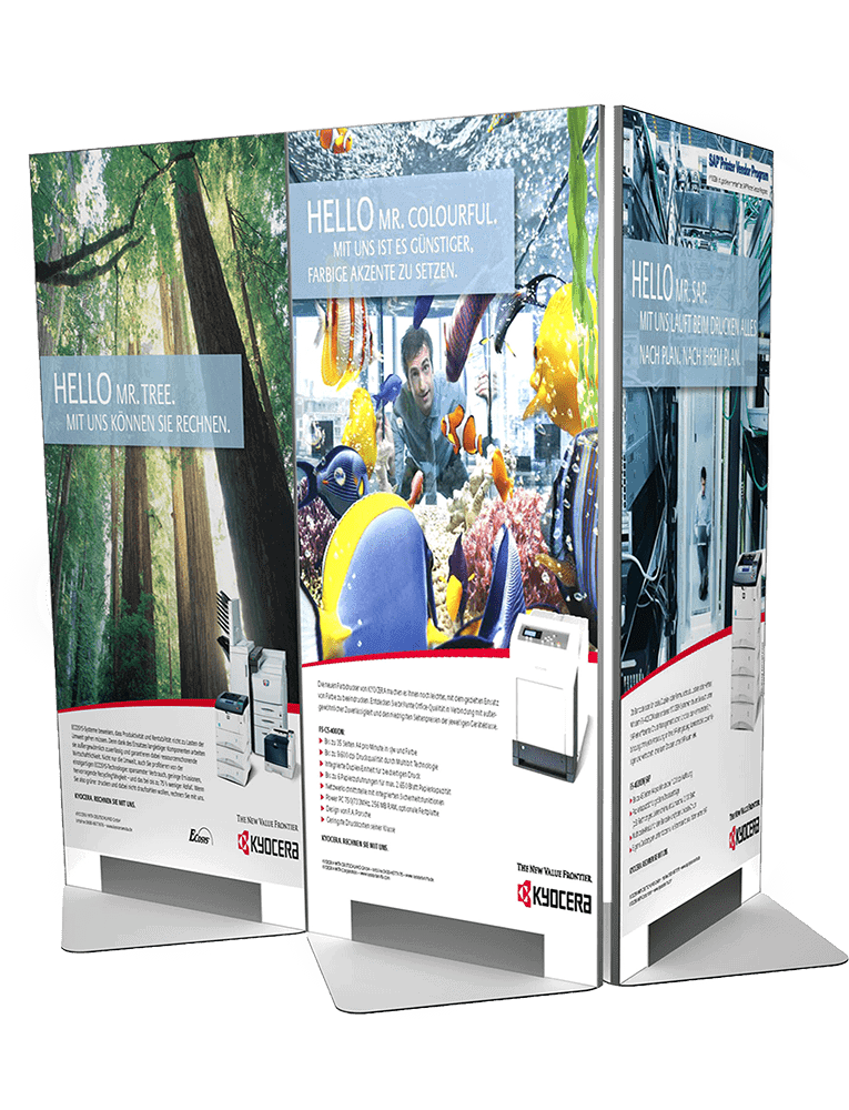 Kyocera – Modular shop system for retail partners