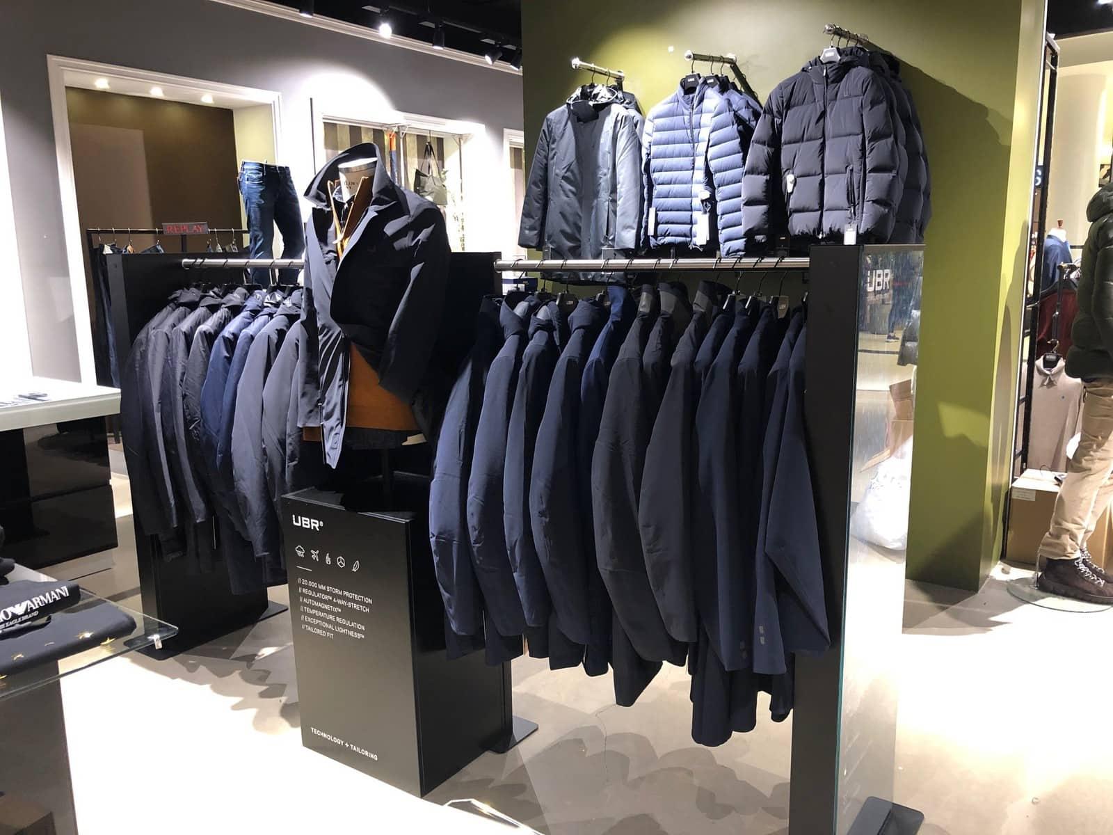 UBR® – shop system for premium functional jackets