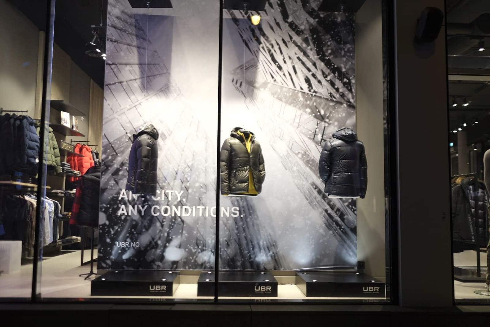 UBR® – Window Display