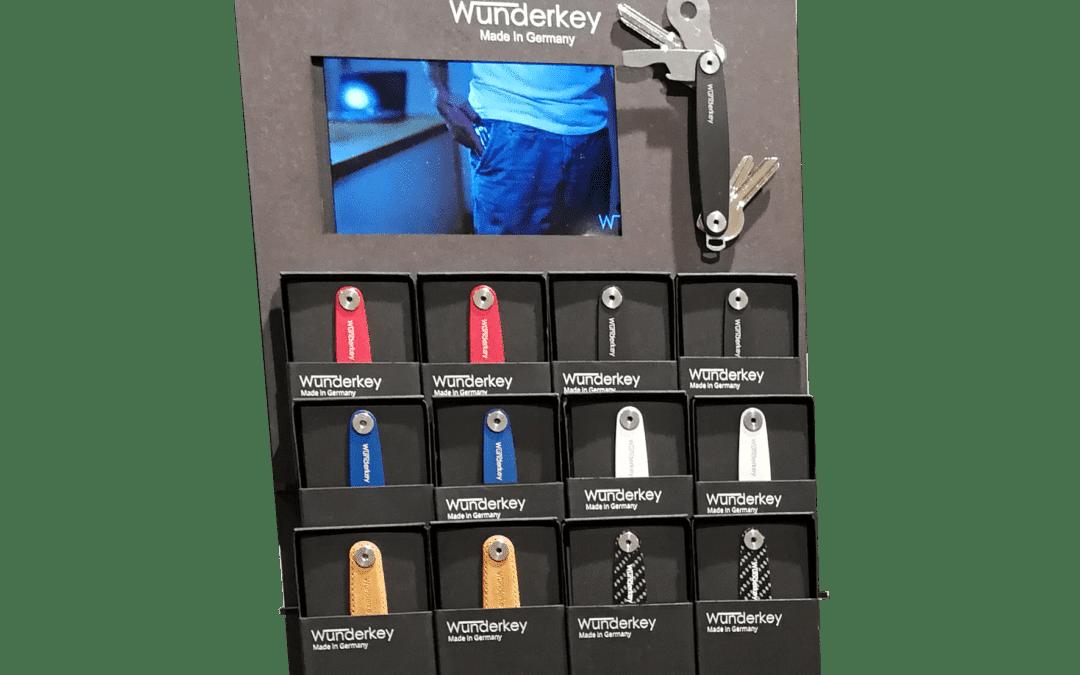 Wunderkey – Thekendisplays und Warenpräsentation für einen Key-Organizer